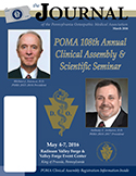 Journal of the POMA March 2016 Cover