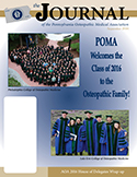 Journal of the POMA September 2016 Cover